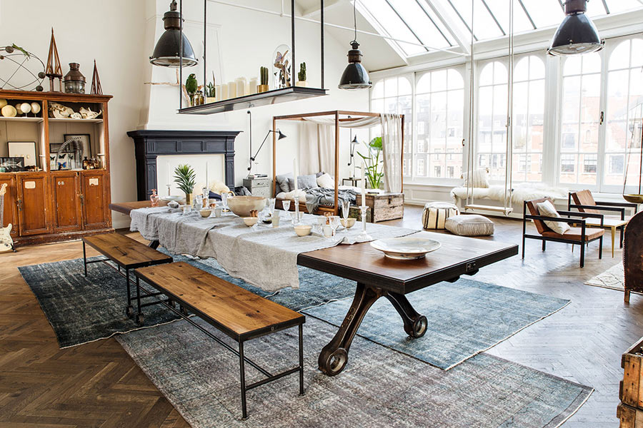 int rieur pop up store loft vintage industriel design amsterdam 13zor studio 13zor. Black Bedroom Furniture Sets. Home Design Ideas