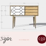 COD Furnitures & 13zor studio – co-design / le prototype de mon 1er meuble !